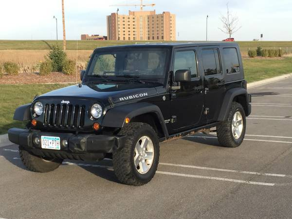 2007 jeep wrangler unlimited rubicon for sale in isle minnesota. Black Bedroom Furniture Sets. Home Design Ideas