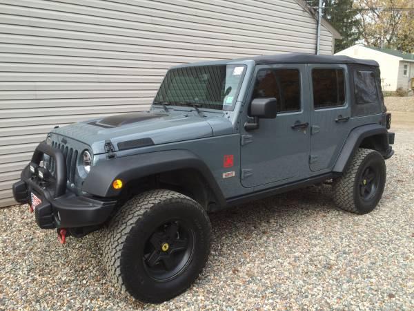 2014 jeep wrangler unlimited for sale in white lake michigan. Black Bedroom Furniture Sets. Home Design Ideas