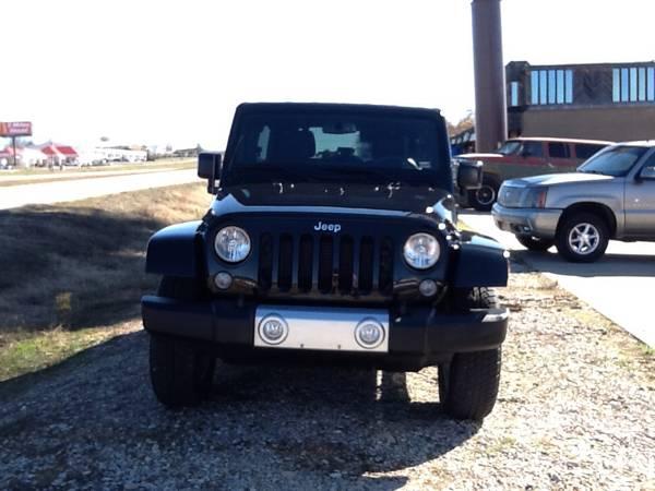 2015 jeep wrangler unlimited sahara for sale in poplar bluff missouri. Black Bedroom Furniture Sets. Home Design Ideas