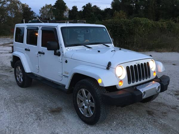 2013 jeep wrangler unlimited sahara for sale in wilmington. Black Bedroom Furniture Sets. Home Design Ideas
