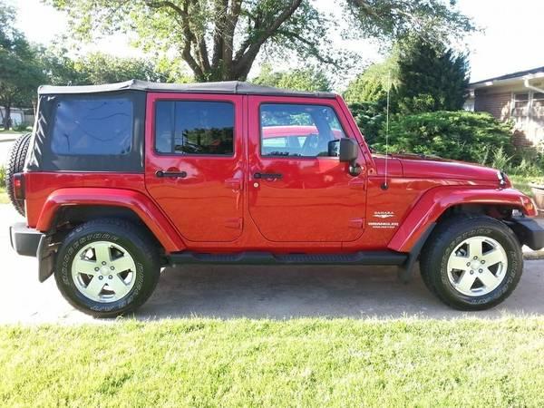 2010 jeep wrangler unlimited sahara for sale in chanute kansas. Black Bedroom Furniture Sets. Home Design Ideas