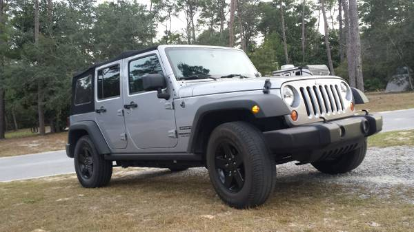 2013 jeep wrangler unlimited sport for sale in okaloosa florida. Black Bedroom Furniture Sets. Home Design Ideas