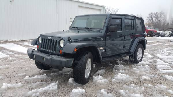 2007 jeep wrangler unlimited sahara for sale in bowling green kentucky. Black Bedroom Furniture Sets. Home Design Ideas