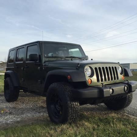 2007 jeep wrangler unlimited for sale in elizabethtown kentucky. Black Bedroom Furniture Sets. Home Design Ideas