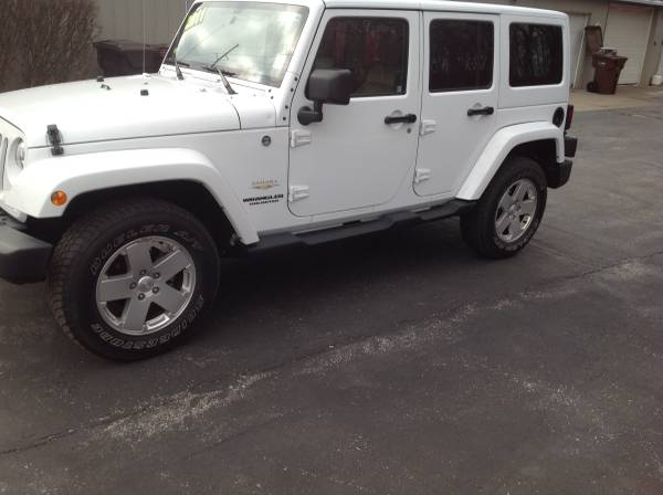 2011 Jeep Wrangler Unlimited Sahara For Sale in Bridgman ...