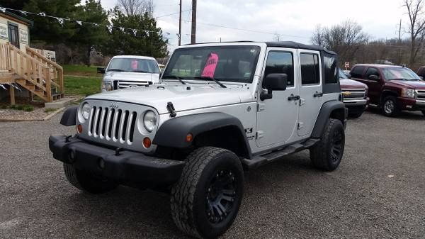 2007 jeep wrangler unlimited x for sale in saint joseph missouri. Black Bedroom Furniture Sets. Home Design Ideas