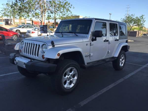 2008 jeep wrangler unlimited sahara for sale in dayton nevada. Black Bedroom Furniture Sets. Home Design Ideas