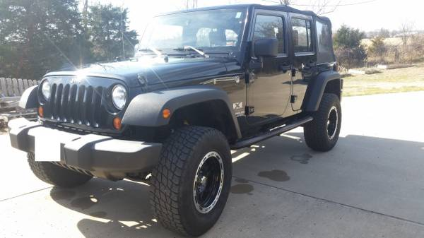 2009 jeep wrangler unlimited x for sale in springfield missouri. Black Bedroom Furniture Sets. Home Design Ideas