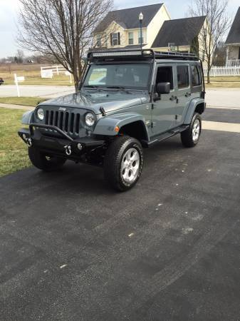2014 jeep wrangler unlimited sahara for sale in toledo ohio. Black Bedroom Furniture Sets. Home Design Ideas