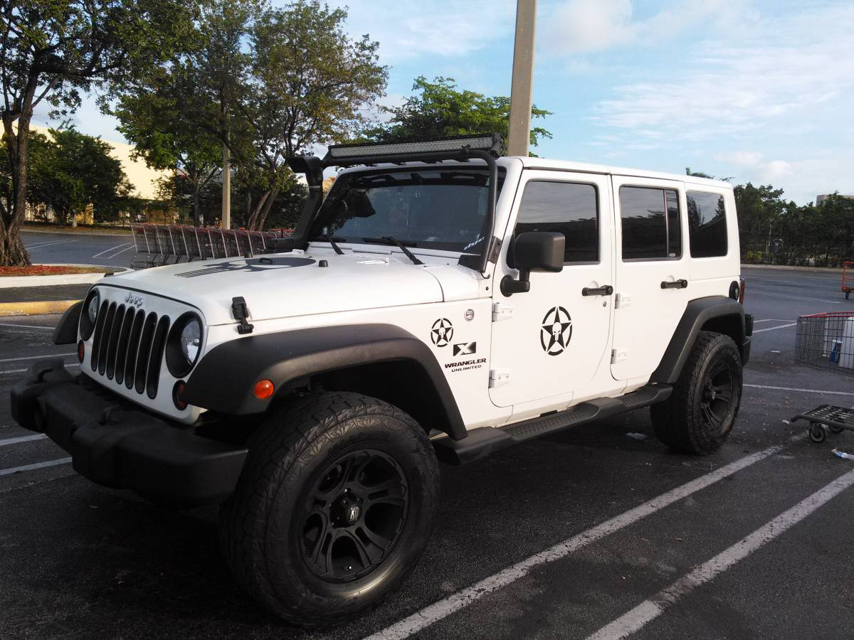 2008 jeep wrangler unlimited x for sale in hialeah florida. Black Bedroom Furniture Sets. Home Design Ideas