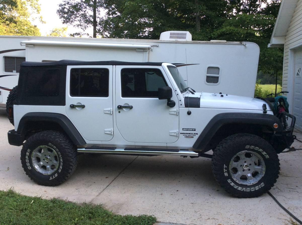 2013 jeep wrangler unlimited sport for sale in ellijay georgia. Black Bedroom Furniture Sets. Home Design Ideas