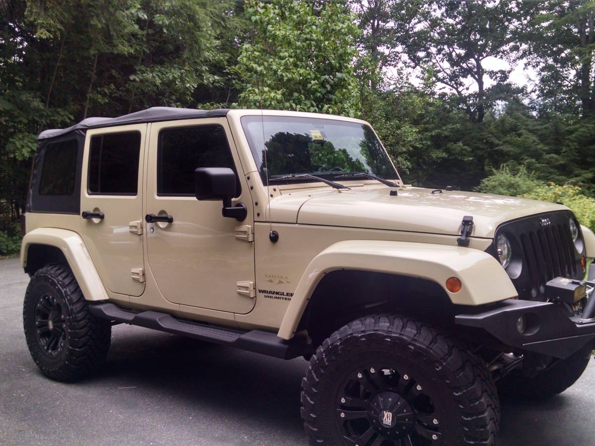 2011 Jeep Wrangler Unlimited Sahara For Sale In Maine