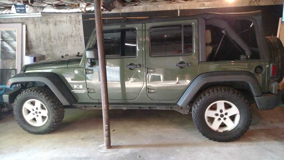 2007 jeep wrangler unlimited x for sale in sedalia missouri. Black Bedroom Furniture Sets. Home Design Ideas