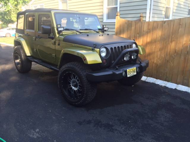 2007 jeep wrangler unlimited sahara for sale in south jersey new jersey. Black Bedroom Furniture Sets. Home Design Ideas