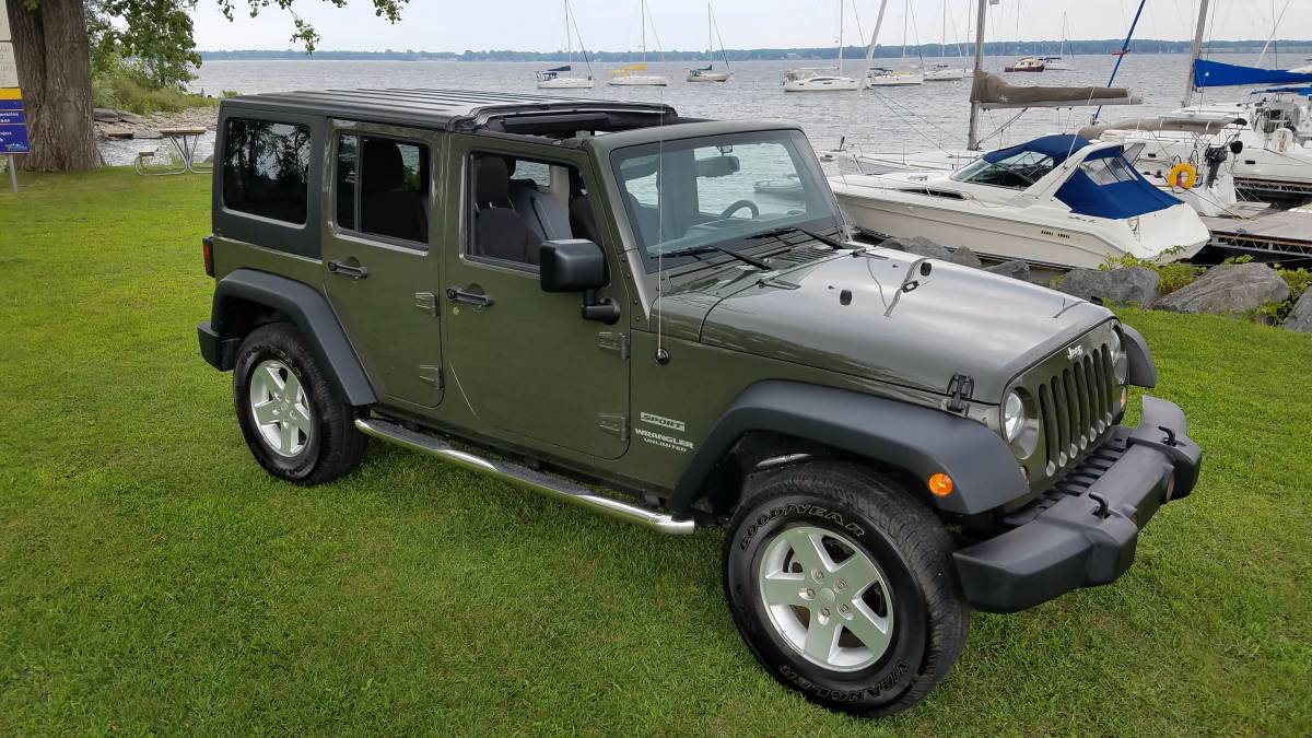 2015 jeep wrangler unlimited sport for sale in upstate new york. Black Bedroom Furniture Sets. Home Design Ideas