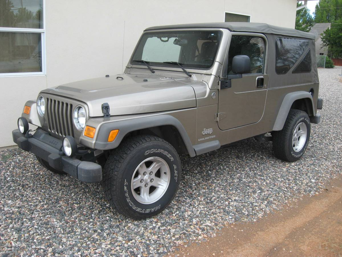 2005 Jeep Wrangler Unlimited V6 Manual For Sale In Cottonwood  Arizona