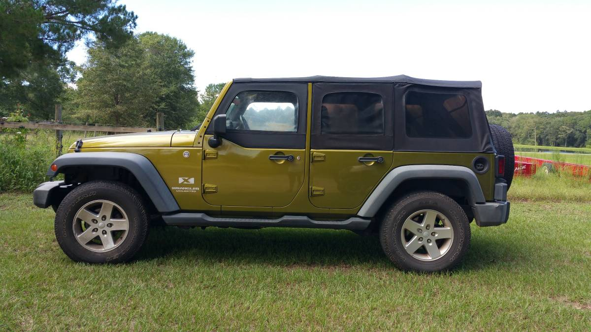 2007 jeep wrangler unlimited x for sale in wray georgia. Black Bedroom Furniture Sets. Home Design Ideas