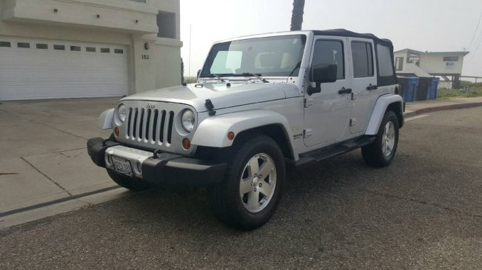2008 jeep wrangler unlimited sahara for sale in grover beach california. Black Bedroom Furniture Sets. Home Design Ideas