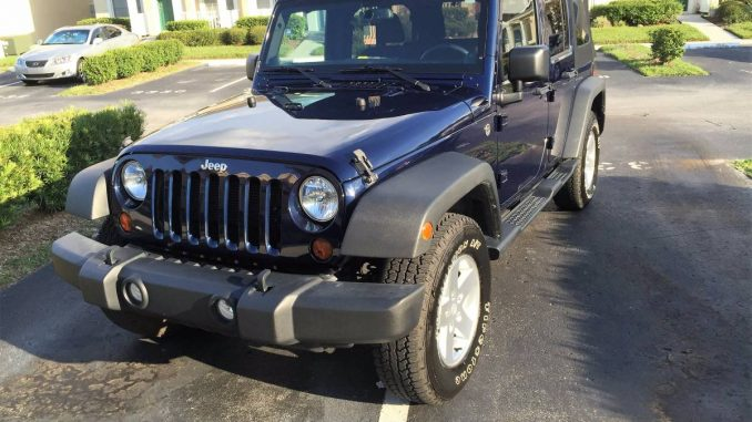 2013 jeep wrangler unlimited sport for sale in tampa bay florida. Black Bedroom Furniture Sets. Home Design Ideas