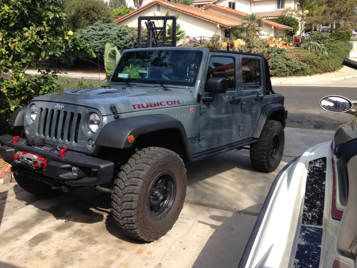 2014 jeep wrangler unlimited rubicon for sale in san diego california. Black Bedroom Furniture Sets. Home Design Ideas