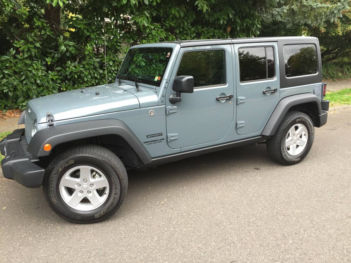 2015 Jeep Wrangler Unlimited Sport For Sale In Hillsdale