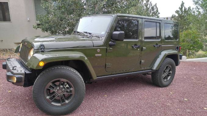 2016 Wrangler Unlimited 75th Anniversary Edition For Sale