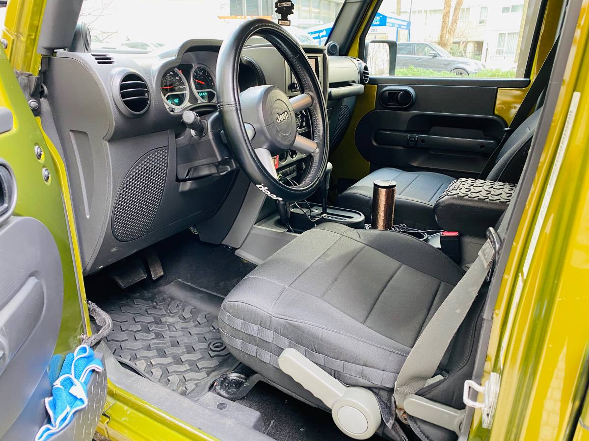 2007 Jeep Wrangler Unlimited Sahara For Sale in ...