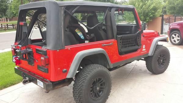 2004 Jeep Wrangler Unlimited For Sale in Lakewood (Denver ...