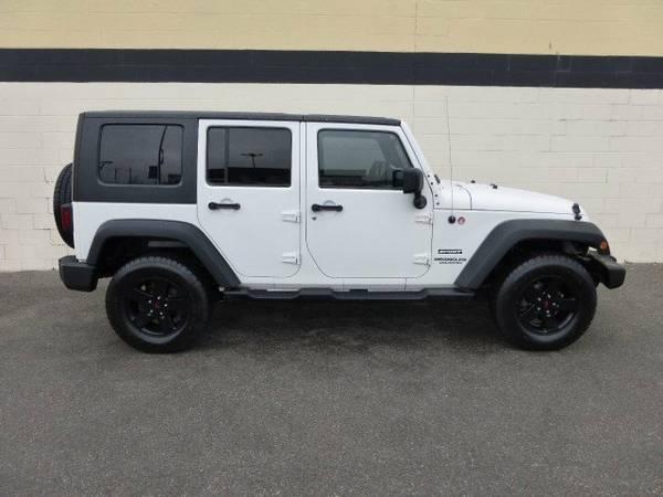 2010 Jeep Wrangler Unlimited Sport For Sale in Spokane WA