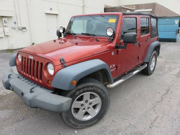 2009 Jeep Wrangler Unlimited For Sale in Cullman, Alabama
