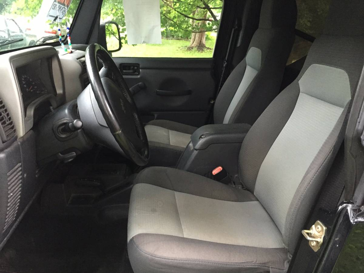 2015 Jeep Wrangler Bench Seat