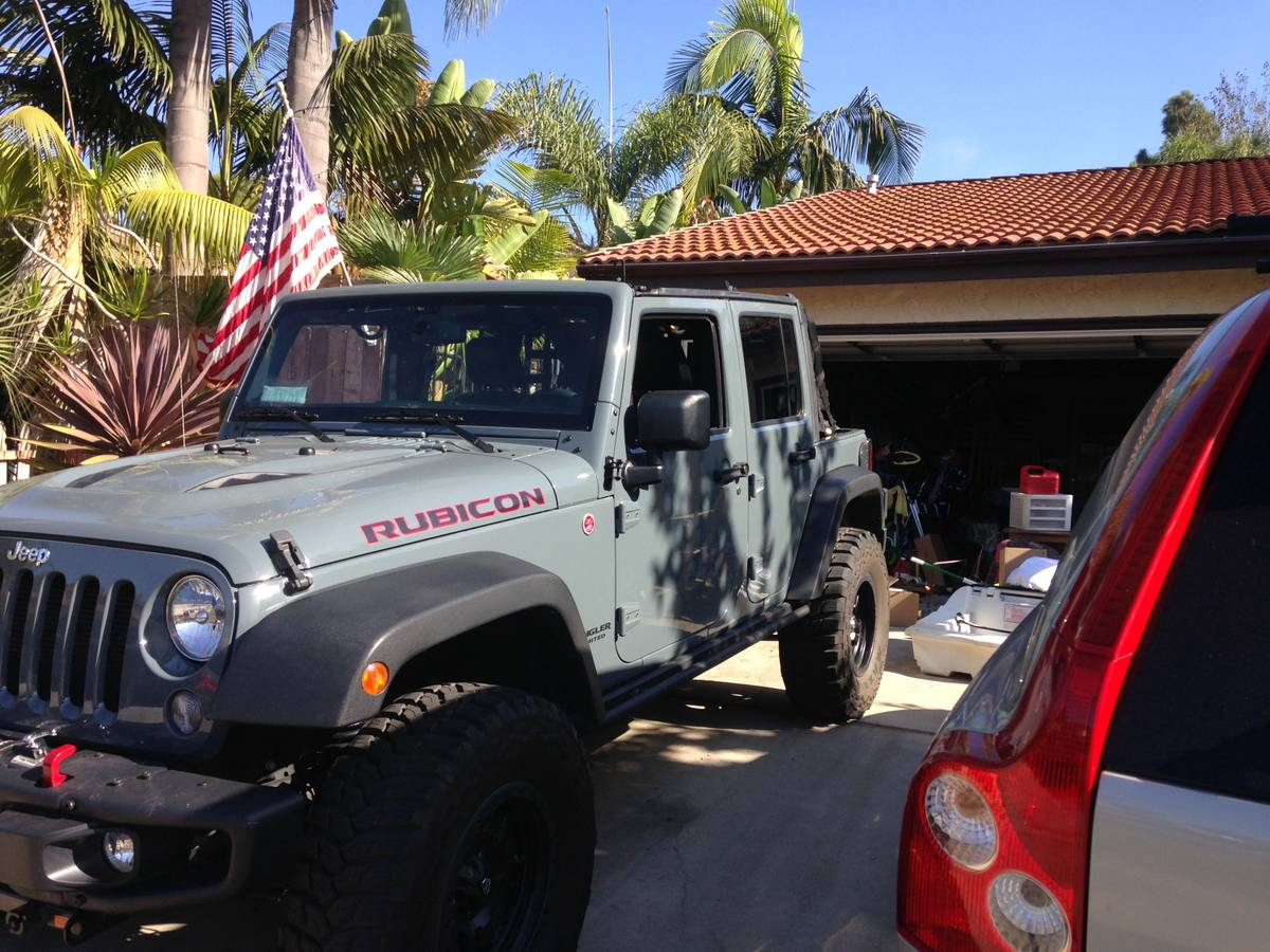 Craigslist Mohave County Az >> 2014 Jeep Wrangler Unlimited Rubicon For Sale in San Diego ...